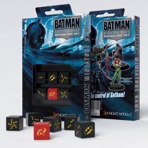 Q-Workshop   Q-Workshop Dice Batman Miniature Game - D6 Batman Dice Set (6) - ACC0031 - 8437013053693