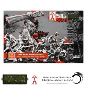 Warlord Games Warlord of Erehwon  Warlords of Erehwon Tribal Nations Warband Starter Set - 722214001 - 5060572508712
