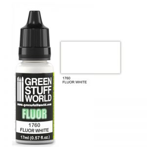 Green Stuff World   Fluorescent Paints Fluor Paint WHITE - 8436574501193ES - 8436574501193