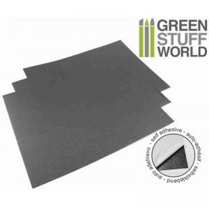 Green Stuff World   Magnets Rubber Steel Sheet - Self Adhesive - 8436554360475ES - 8436554360475