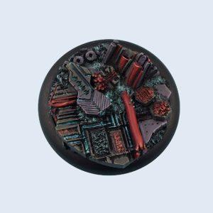 Micro Art Studio   Derelict Bases Derelict Bases, WRound 50mm (1) - B04143 - 5900232360574