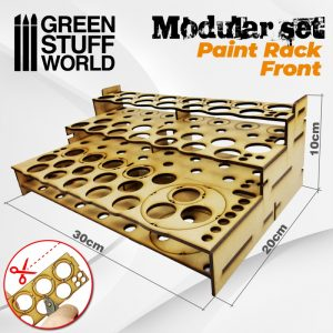 Green Stuff World   Paint Racks Modular Paint Rack - FRONT - 8436574503456ES - 8436574503456