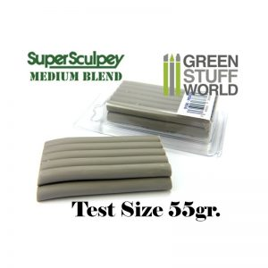 Green Stuff World   Modelling Putty & Green Stuff Super Sculpey Medium Blend 55 gr. - 8436554366958ES - 8436554366958