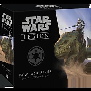 Fantasy Flight Games Star Wars: Legion  The Galactic Empire - Legion Star Wars Legion: Dewback Rider Unit - FFGSWL42 - 841333107734