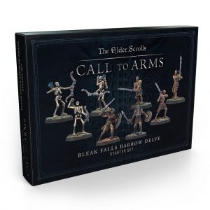 Modiphius (Direct) The Elder Scrolls: Call to Arms  The Elder Scrolls: Call To Arms The Elder Scrolls: Call to Arms Bleak Falls Barrow Delve Set (resin) - MUH051931 - 5060523342921
