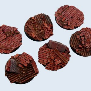 Micro Art Studio   Old Factory Bases Old Factory Bases Round 40mm (2) - B01622 - 5900232358441