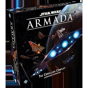 Fantasy Flight Games Star Wars: Armada  Star Wars Armada Essentials Star Wars Armada: The Corellian Conflict - FFGSWM25 - 841333101763