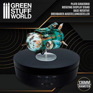 Green Stuff World   Display Plinths Rotating Display Stand 136mm - 8436574507195ES - 8436574507195