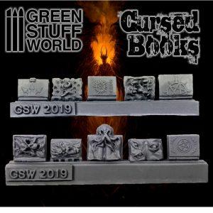 Green Stuff World   Green Stuff World Conversion Parts Resin Cursed Books - 8436574503722ES - 8436574503722
