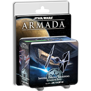Fantasy Flight Games Star Wars: Armada  The Galactic Empire - Armada Star Wars Armada Imperial Fighter Pack - FFGSWM08 - 9781633440005