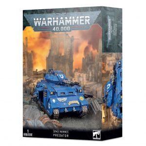 Games Workshop Warhammer 40,000  Space Marines Space Marine Predator - 99120101320 - 5011921142491