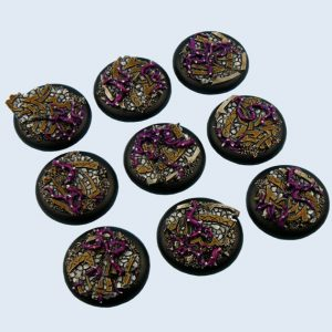 Micro Art Studio   Dark Temple Bases Dark Temple Bases, WRound 30mm (5) - B02241 - 5900232351060