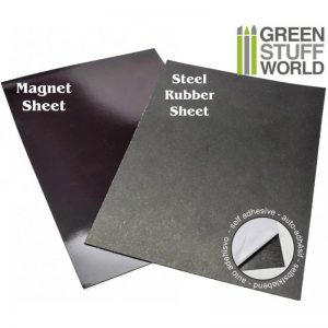 Green Stuff World   Magnets Magnetic Sheet COMBO - Self Adhesive - 8436554365265ES - 8436554365265