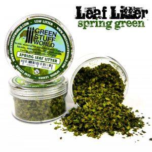 Green Stuff World   Lichen & Foliage Leaf Litter - Spring Green - 8436554362639ES - 8436554362639