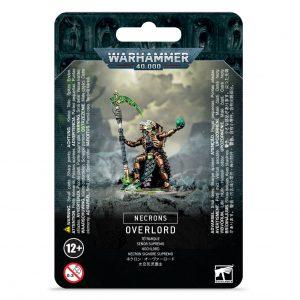 Games Workshop Warhammer 40,000  Necrons Necron Overlord - 99070110004 - 5011921140336