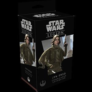 Fantasy Flight Games Star Wars: Legion  The Rebel Alliance - Legion Star Wars Legion: Jyn Erso - FFGSWL31 - 841333107024