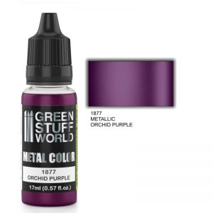 Green Stuff World   Acrylic Metallics Metallic Paint ORCHID PURPLE - 8436574502367ES - 8436574502367