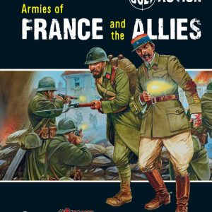 Warlord Games Bolt Action  Bolt Action Books & Accessories Armies of France and the Allies - WGB-07 - 9781780960920