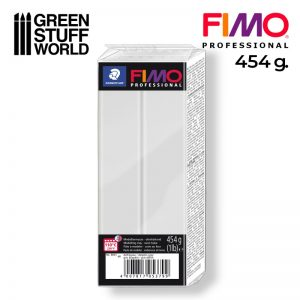 Green Stuff World   Modelling Putty & Green Stuff Fimo Professional 454gr - Dolphin Grey - 4007817053836ES - 4007817053836