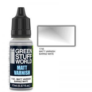 Green Stuff World   Varnish GSW Matt Varnish - 8436574501049ES - 8436574501049