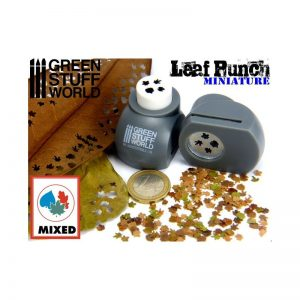 Green Stuff World   Stamps & Punches Miniature Leaf Punch GREY - 8436554363001ES - 8436554363001
