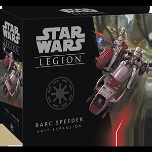 Fantasy Flight Games Star Wars: Legion  The Galactic Republic - Legion Star Wars Legion: BARC Speeder Unit - FFGSWL48 - 841333109240