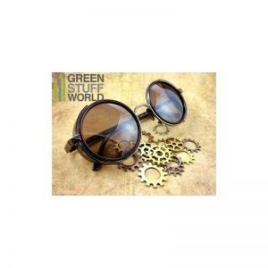 Green Stuff World   Costume & Cosplay Retro SteamPunk goggles - COOPER frame - 8436554360857ES - 8436554360857