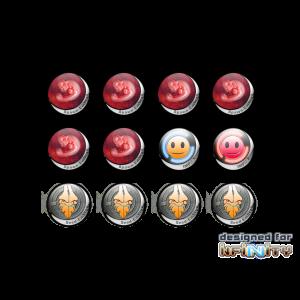 Micro Art Studio   Infinity Tokens Infinity Tokens Shasvastii (12) - P00048 - 5900232356676