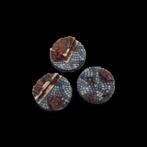 Micro Art Studio   Triad Bases Triad Bases, Round 50mm (2) - B04731 - 5900232352418