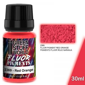 Green Stuff World   Fluorescent Pigments Pigment FLUOR RED ORANGE - 8436574507287ES - 8436574507287