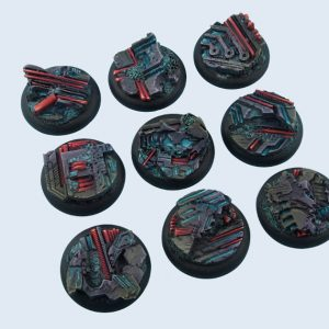Micro Art Studio   Derelict Bases Derelict Bases, WRound 30mm (5) - B04141 - 5900232360550