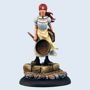 Micro Art Studio   Discworld Miniatures Discworld Tiffany Aching (1) - D04700 - 5900232352487