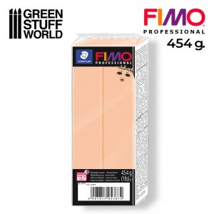 Green Stuff World   Modelling Putty & Green Stuff Fimo Professional 454gr - Cameo - 4007817053874ES - 4007817053874
