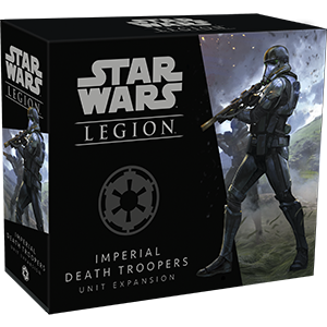 Fantasy Flight Games Star Wars: Legion  The Galactic Empire - Legion Star Wars Legion: Imperial Death Troopers - FFGSWL34 - 841333107055