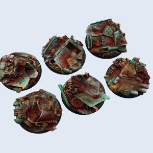Micro Art Studio   Scrapyard Bases Scrapyard Bases, Round 40mm (2) - B04322 - 5900232359974