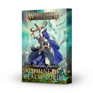 Games Workshop Age of Sigmar  Lumineth Realm-lords Warscroll Cards: Lumineth Realm-lords - 60050210001 - 5011921140268