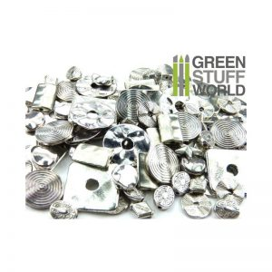 Green Stuff World   Costume & Cosplay Flat Round LINKS Beads 85gr - SMALL - 8436554365869ES - 8436554365869