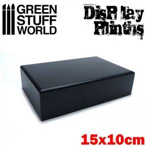 Green Stuff World   Display Plinths Rectangular Plinth 15x10 cm - 8436574501704ES - 8436574501704