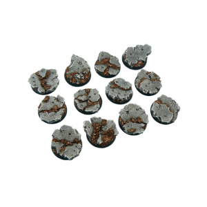 Micro Art Studio   Ruins Bases Ruins Bases, Round 25mm (5) - B00121 - 5905133597043