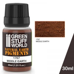Green Stuff World   Powder Pigments Pigment MIDDLE EARTH - 8436574501261ES - 8436574501261