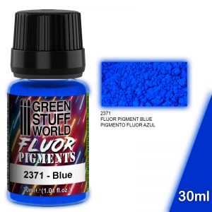 Green Stuff World   Fluorescent Pigments Pigment FLUOR BLUE - 8436574507317ES - 8436574507317