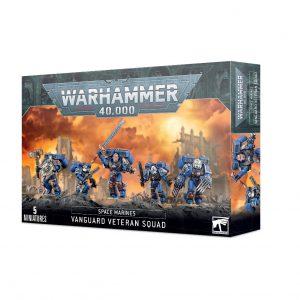 Games Workshop Warhammer 40,000  Space Marines Space Marine Vanguard Veteran Squad - 99120101300 - 5011921142163