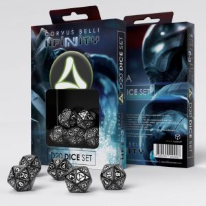 Q-Workshop Infinity | Infinity RPG  Tohaa Tohaa D20 Dice Set - 285049 - 2850490000008