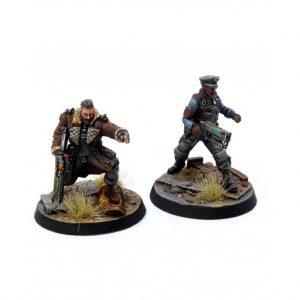 Modiphius Fallout: Wasteland Warfare  Fallout: Wasteland Warfare Fallout: Wasteland Warfare Brotherhood of Steel Elder Maxon & Captain Kells - MUH051815 - 5060523342051