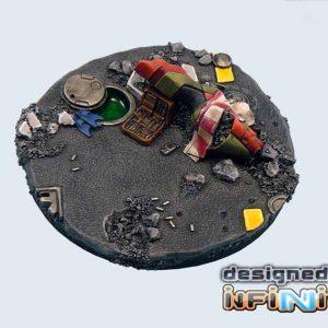 Micro Art Studio   Urban Fight Bases Urban Fight Bases, Round 60mm #1 (1) - B03423 - 5900232356065
