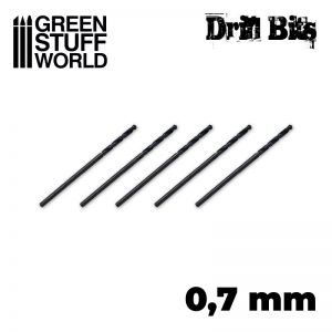 Green Stuff World   Green Stuff World Tools Drill bit in 0.7 mm - 8436574506440ES - 8436574506440