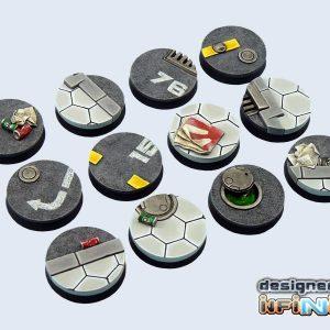 Micro Art Studio   Urban Bases Urban Bases, Round 25mm (5) - B03221 - 5900232355792