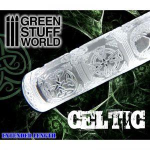 Green Stuff World   Rolling Pins Rolling Pin CELTIC - 8436554362233ES - 8436554362233