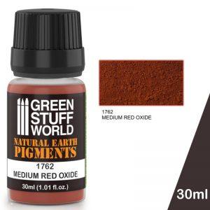 Green Stuff World   Powder Pigments Pigment MEDIUM RED OXIDE - 8436574501216ES - 8436574501216