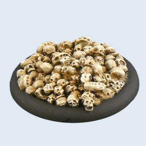 Micro Art Studio   Skulls Bases Skulls Bases, WRound 50mm (1) - B01943 - 5900232350308